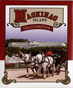 12 Postcard Pack by Benjamin of Mackinac Island